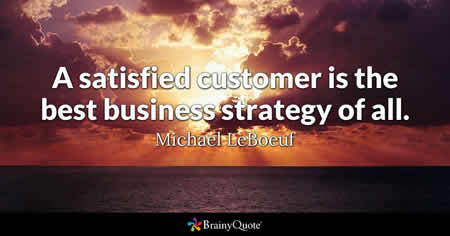 Customer relationships quote