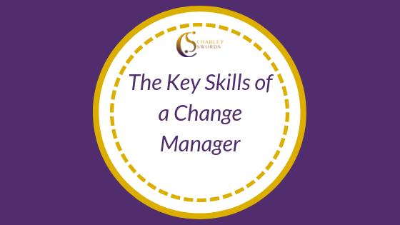 Key skills change manager
